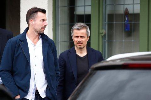 I MØTER: Ifølge TV2 skal etterforskningslederne Børge Rønning i Øst politidistrikt (t.h.) og Frode Lier i Kripos ha møtt den britiske eksperten denne uka.
