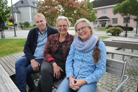 Ola André Olsen, Tonje Dahlstrøm og Elisabeth Stabell i prosjektgruppa for matfestivalen Brød & Cirkus har nå tatt valget om å avlyse den 7. festivalen i rekka.