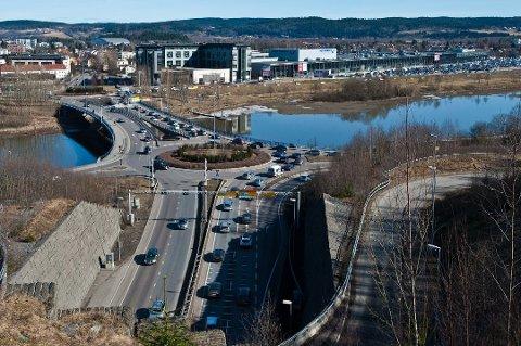 Fyllekjøreren ble stoppet like ved Rælingstunnelen.