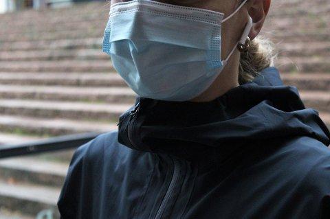 MUNNBIND: Nå blir det påbud i Lillestrøm kommune om bruk av munnbind på kollektivtransport der man ikke kan holde én meters avstand.