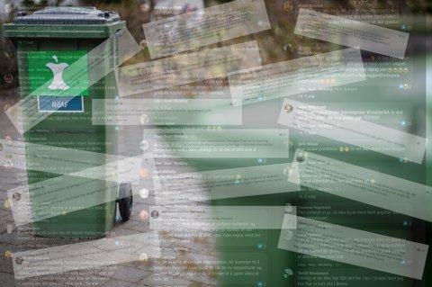SKAPTE ENGASJEMENT: Innføringen av en ny, egen avfallsbeholder i sju kommuner på Nedre Romerike ble nesten utelukkende møtt med negative tilbakemeldinger.
