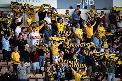 PUBLIKUM: I de to kommende kampene på Åråsen vil klubben fortsette med plass til 2.000 tilskuere.