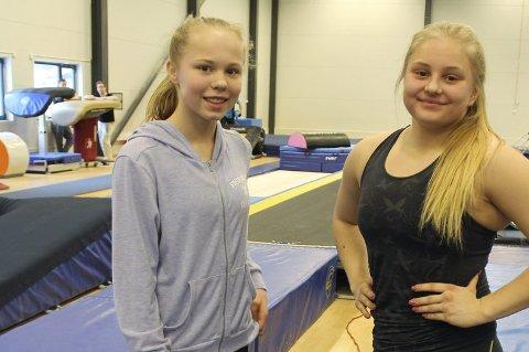 KANSKJE TIL EM: Kamilla Byrkjeland og Juliane Bjelde