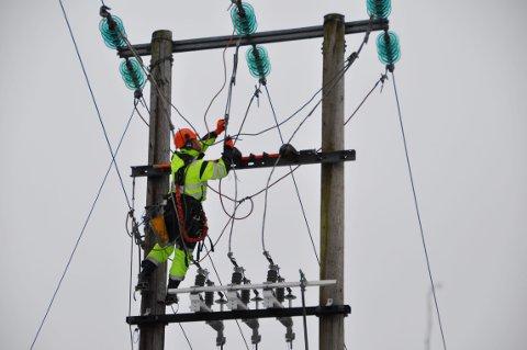 ILLUSTRASJON: Mer enn 260 kunder mistet strømmen i 16 timer. Nå får de avslag på strømregningen.