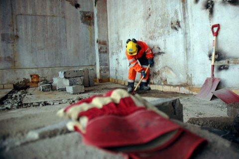 NEDGANG I LEDIGHETEN: Inne industrifag var det en nedgang i ledigheten på 11 prosent. Inne bygg og anlegg var en nedgang på ni prosent, og det var registrert 119 ledige jobber. Illustrasjonsfoto: Torbjørn Endal.