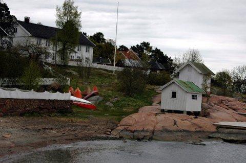 BRANNSIKRING: Seilkroa til Drammen Seilforening på Rødtangen skal brannsikres, og Stiftelsen UNI har gitt støtt til brannvarslingsutstyr.