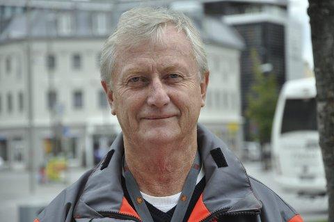 STENGER IGJEN: – Strømsåstunnelen stenges fram til 5. mars fra søndag førstkommende, sier prosjektleder Odd Grette.