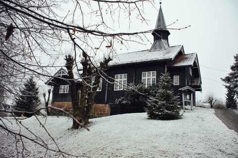 FOLKETONEMESSE: I Åros kirke søndag. Foto: Edgar Dehli