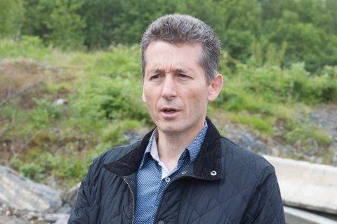 GRØNT LYS: Jens Lillegraven gleder seg over at Asker kommune har godskjent prosjektet om utbygging av ROS arena.