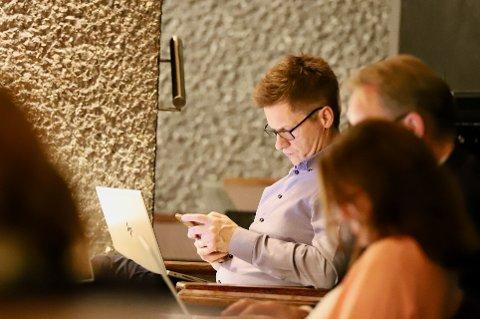 OPPVEKSTSJEF: Kai Erik Lund er direktør for oppvekst og fikk fylkesmannens tilsynsrapport på sitt bord i starten av denne uken.