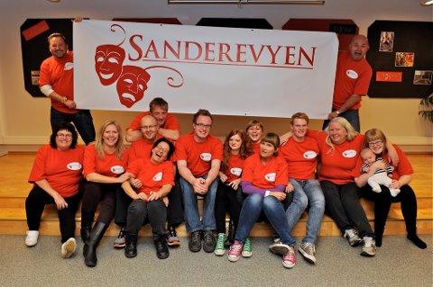 Sanderevyen er tatt ut til årets revy-NM på Høylandet.