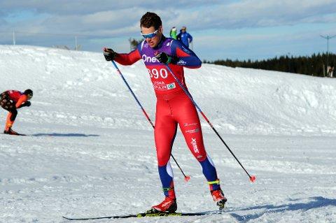 TOPPLØP: Eivind Kjennerud prikket inn formen da det gjaldt som mest og gikk to gode løp under norgesmesterskapet på Lygna.