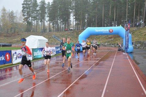 Sivert og Jørgen hadde en god start på  10 km Furumomila , Sivert start nr. 4 og Jørgen nr. 6 i grønt