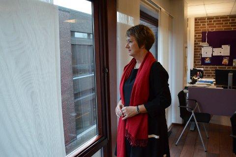 LOKALISERING: Prosjektleder Gudrun Grindaker ønsker ikke innsyn fra offentligheten der saken står nå.