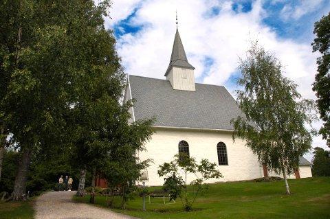 PÅVIRKES: Kirkene i nye Sandefjord, blant annet Andebu kirke.