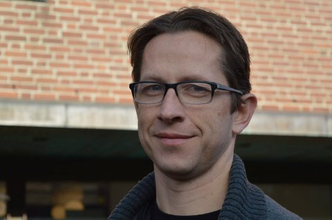 Martin Torhaug, hovedtillitsvalgt for Utdanningsforbundet i Stokke kommune