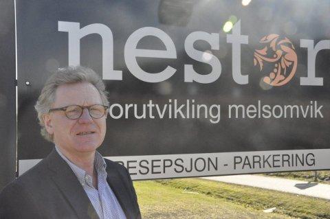 DATAopplæring: – Det tar tid å lære grunnleggende data, sier Nestor-sjef Terning Dahl-Hansen. Foto: Privat