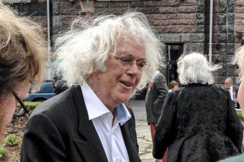 Begivenhet: Dag Solstad skal fortelle om sitt litterære forhold til Sandefjord 19. april. Foto: Flemming H. Tveitan
