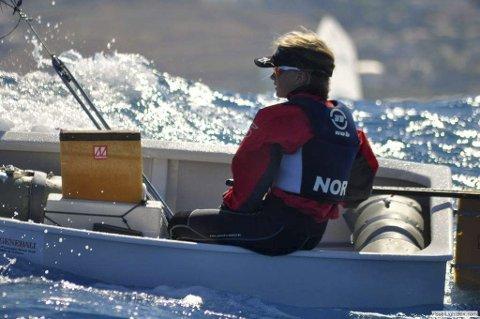 Representerte Norge: Nora Doksrød debuterte i EM i optimistjolle forrige uke. Hun var en av tre norske seilere på plass i italienske Crotone. Nora er faktisk Sandefjord Seilforenings første EM-utøver på over 27 år.
