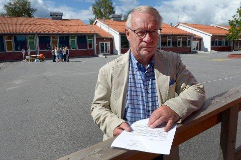 – Illojalt: Tor Steinar Mathiassen (H) mener Nils Ingar Aabol opptrer illojalt når han stemmer imot Fellesnemndas vedtak. Arkivfoto: Olaf Akselsen
