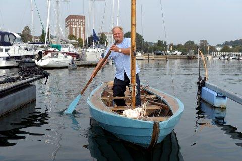 Kragerøterna: Seilbåten til Harald Berggreen (56) er igjen operativ.