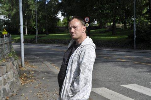 VIL VEKK: Glenn Willy Erlandsen ønsker å bryte med rusmiljøet.
