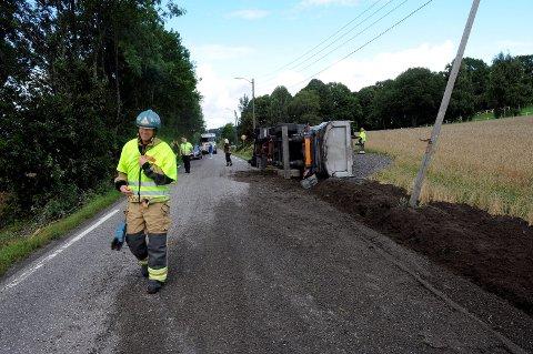 Ulykker: Gjennom årenes løp har reportere fra Sandefjords Blad tatt mange turer til Kodalveien for å dekke ulykker.Arkivfoto: Kurt andre høyessen