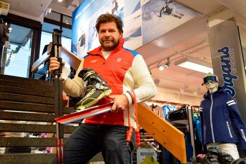 VELDIG POPULÆRE: – Salget av turskøyter som dette har tatt helt av i år, sier Lars Petter Hansen.