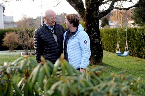 Veteraner på hver sin side: Ekteparet Solveig og Harald Imsen har begge kjent på utfordringen når den ene tjenestegjør i utenlandske krigsoperasjoner. Her er de hjemme i Sandefjord.