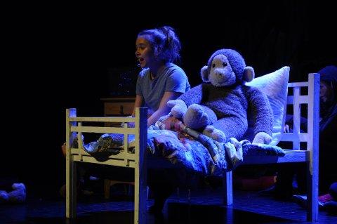 SCENEVANT: Isabel Bohmann har flere ganger opptrådt i Sandefjord. Her fra en teaterforestilling på Verdensteateret i vinter, der hun hadde hovedrollen.