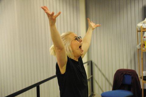 ENGASJEMENT: Trine Lise Aadne «in action».