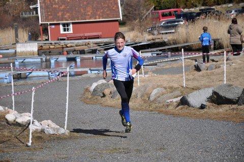 LITE FEIL: Cornelius Bjørk løp inn til andreplass på Langeby søndag.