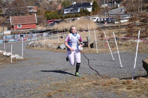 SEIER: Signe Bredholt Jørgensen var best blant jentene i 17-18-årsklassen.