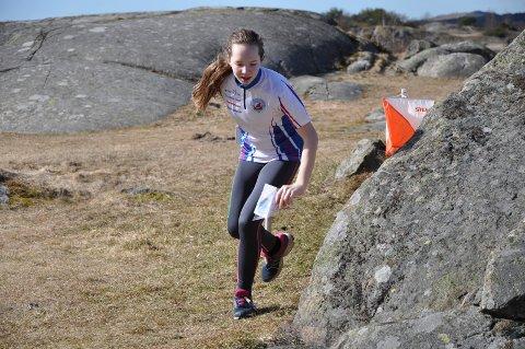 Andreplass: Lise Strøm fra SOK sikret andreplass i klasse D13-16C.