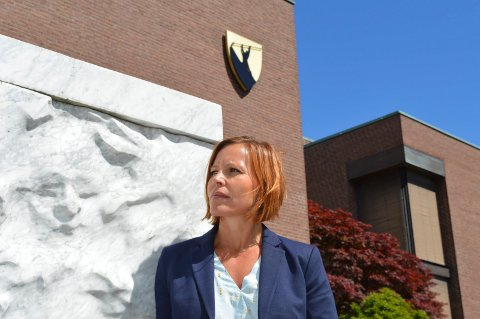 VARSLERSAKEN:  Dette er en enkeltstående sak, som det er viktig å komme til bunns i. Men den har begrenset betydning for kommunens renommé, mener Cathrine Stensland, adm.dir. og partner i Metro Branding på Huvik.