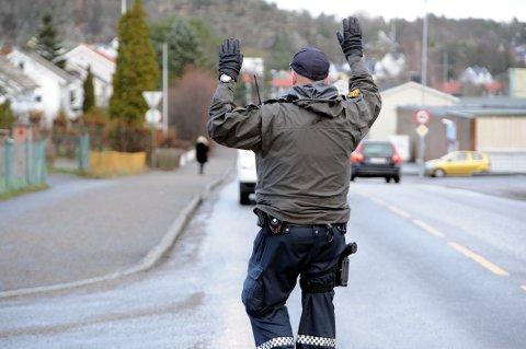 Flere fartskontroller: UP styrker innsatsen for å få ned farten på veiene.