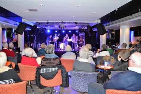 RUNDER: Røshnes Jazzband bidrar selvfølgelig slik som mange ganger tidligere når SandefjordJazz jubilerer med stor konsert i slutten av januar..