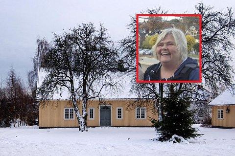 Pukkestad gård er stedet langfredag, forteller Kathe Davidsen Nielsen i Fjorden Sanitetsforening (innfelt).