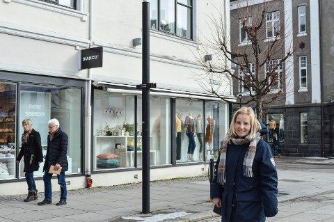 FORBILDE: Jernbanealleen og Kongens gate er eksempler på levende byrom som fungerer, mener arealplansjef Ebba Friis Eriksen.