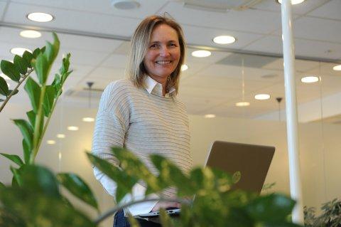 PRIS: Grunder Tonia Lehmann Pedersen fra Sandefjord fikk teknologipris i kategorien fagleder.