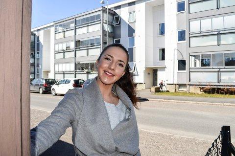 NY EPOKE: 16. mai blir Martine Dürbeck (26) for første gang eier av egen bolig. Hun valgte hjembyen framfor å bli værende i Oslo.
