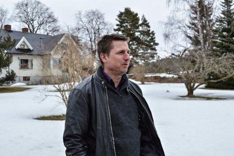 EPLEHAGEFORTETTING: De seks dekarene på Vindal skal bygges ut med 24 leiligheter fra 55 til 70 kvadratmeter, forteller Hans-Morten Søvik i Vindalgrenda AS.
