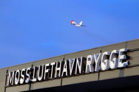 USIKKER FREMTID: Det er forsatt høyst usikkert om det blir en reåpning av Rygge Sivile Lufthavn neste år.