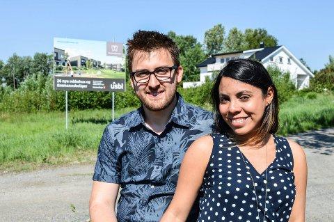 DRØMMEN: Firmannsbolig her på Mosserødkroken innen neste sommer er drømmen til David og Adriana Garcia.