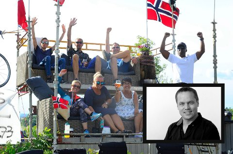 Sykkel-NM lagde fest for hele byen - og bygde opp viktig kompetanse. All ære til arrangørene, skriver ansvarlig redaktør Steinar Ulrichsen (innfelt) i denne lederen.