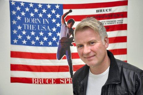 KURDAGHAGEN: Ståle Søndrål Wick kommer til Kurbadhagen på lørdag, med sitt band, der de skal lage en skikkelig Bruce Springsteen-hyllest.