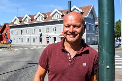 NY AVTALE: Oddbjørn Røed i Nordisk Bergteknik i Norge gleder seg til å samarbeide med Kragerø.