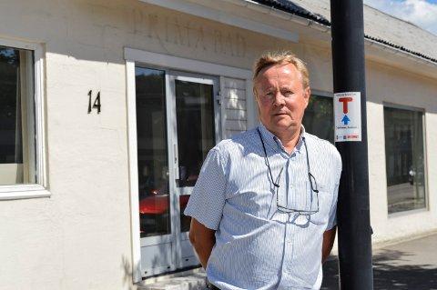 HAR OMBESTEMT SEG: Dag Engenes i Hole Eiendoms Utvikling ønsker å selge det tomme næringsbygget i Kilgata 14, etter å ha eid det siden i fjor vinter.
