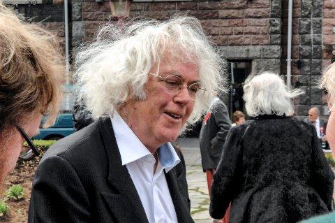 I FØDEBYEN: Dag Solstad har de siste årene fått et nærere forhold til sin fødeby Sandefjord, blant annet som 17. mail-taler i 2011.