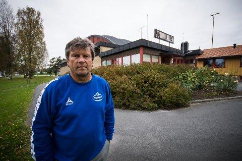 FERDIG: Daglig leder i Sandefjord Håndball, Kjell-Gunnar Dahle, er ferdig i klubben.